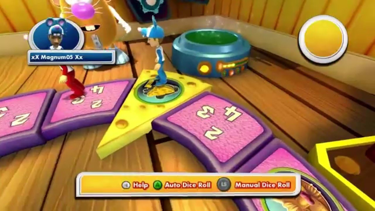 Let's Play Family Game Night 3 [Mouse Trap] Xbox 360