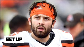 Baker Mayfield is on the verge of being sidelined like Mitchell Trubisky - Damien Woody | Get Up