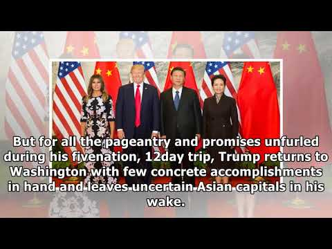 [Daily Times]Trump returns from asia with uncertain results