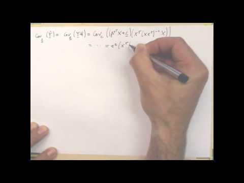 7.2 Optimum Experimental Design | 7 Regression | Pattern Recognition Class 2012