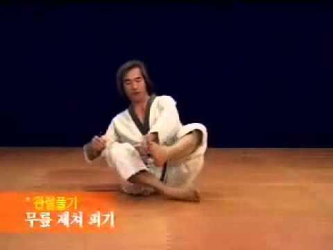 Master KANG Shin Chul stretching exercises