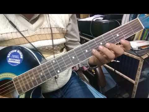 Kal Ho Na Ho Guitar Tab + Chords Lesson. - YouTube