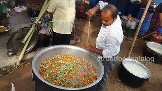Amazing Cooking VEG BIRYANI Recipe Prepared 1500 People Hindu Function | Street Food Catalog