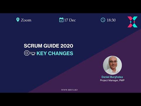 BRYX Webinars - Scrum Guide 2020: Key Changes