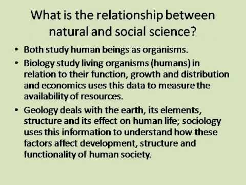 Similarities Between Natural Science And Humanities