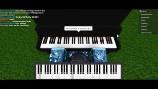 Roblox VP piano - Gravity falls theme!