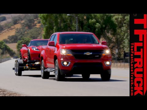 2016 Chevy Colorado Duramax Diesel First Towing Review Youtube