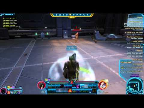 SWTOR Republics Most Wanted Quest Beat GutShot Boss Commentary + tutorial