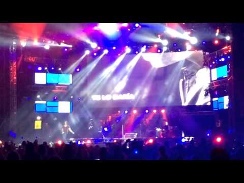 Darte un beso - Prince Royce En Metro concierto en Cartagena