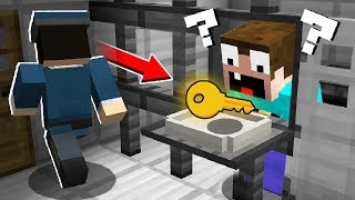 HOW NOOB ESCAPED FROM PRISON? in Minecraft Noob vs Pro