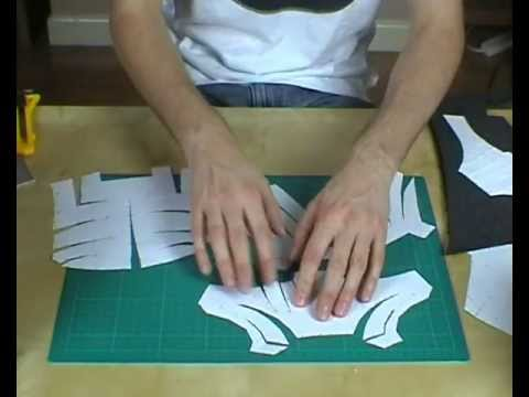 Xrobots how to modify pepakura templates for foam for Iron man foam armor templates