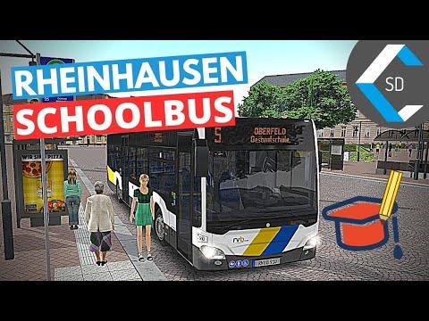 OMSI 2 [Addon Rheinhausen] | S (Schoolbus / Schulbus) | Gameplay No Commentary | 1440p 60fps |