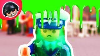 KARLCHEN KNACK #82 - Toni wird eingeschleimt! - Playmobil Polizei Film