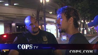 What Would You Do?, Officer Spencer Perry, COPS TV SHOW