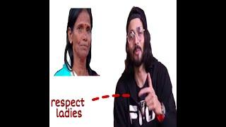 Bhuvan Bam commented on ranu mandal...