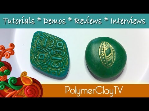 How to create faux jade with polymer clay easy recipe
