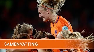 Highlights Slowakije - Oranjevrouwen (24/11/2017)
