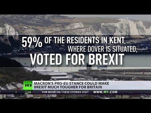 """""""We'll put troops on UK shores"""" Dover residents on Le Touquet"""