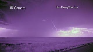 7/9/2014 InfraRed Lightning Footage Experiment - Pawnee National Grassland CO