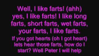 Family Guy-I like farts! + lyrics