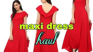 maxi dress haul/kurti haul/flipkart summer sale 2019/party wear dresses haul/haul videos