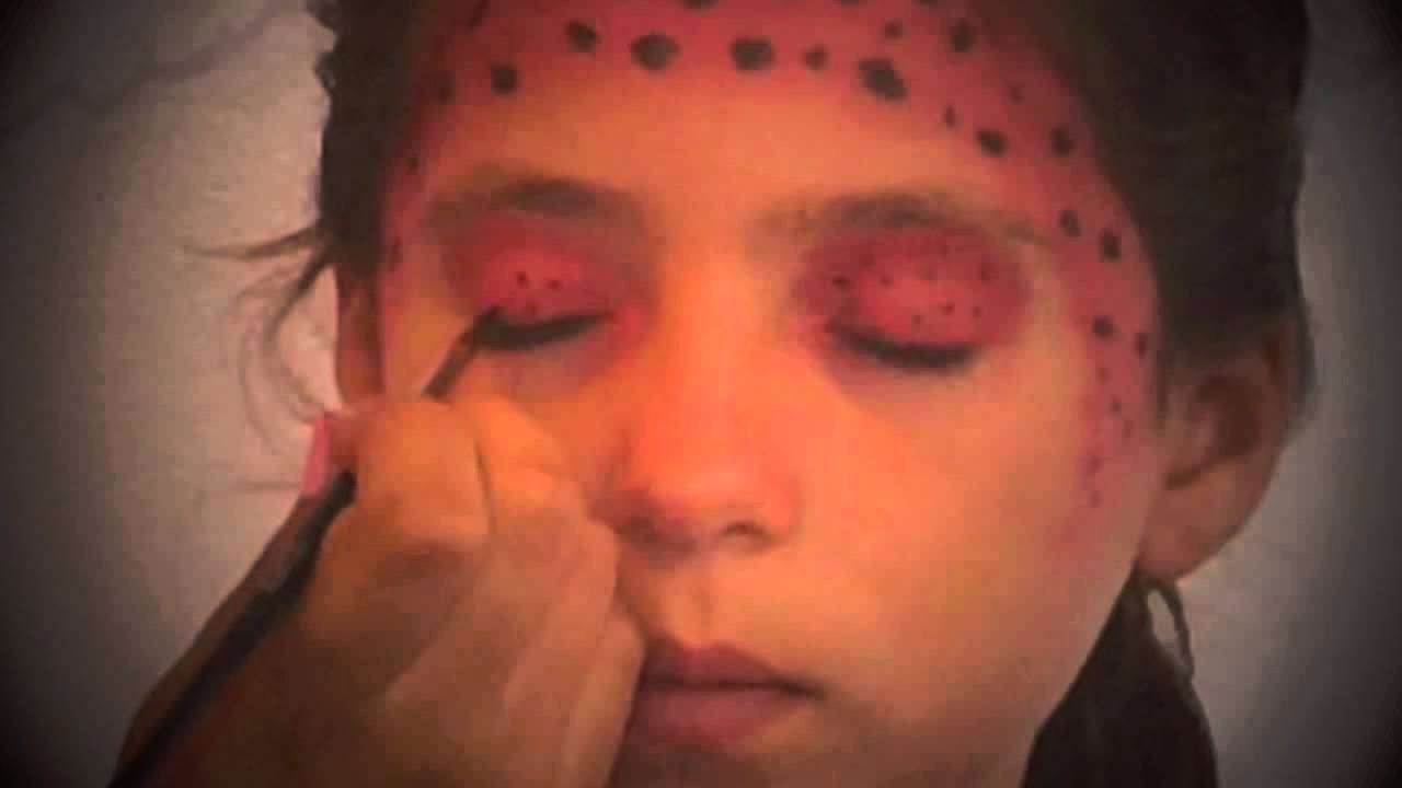 Ladybug costume makeup tutorial youtube ladybug costume makeup tutorial baditri Gallery
