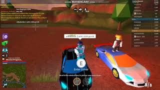 ROBLOX CURRENT BOTH VEHICLE RIDE AND SHOOT 2018