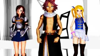 [MMD]Fairy Tail - DNA  (Request)