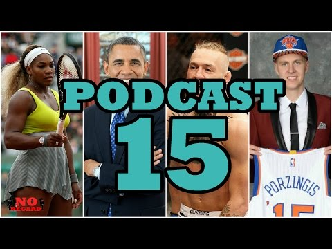 Podcast 15 - Sports Headlines, Current World Issues & More