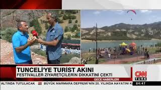 Huzur ve Turizm Şehri Tunceli...@cnnturk