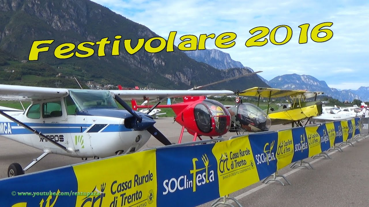 Aeroporto Trento : Festivolare aeroporto g proni trento lidt youtube