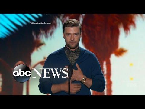 Justin Timberlake Teen Choice Awards Speech