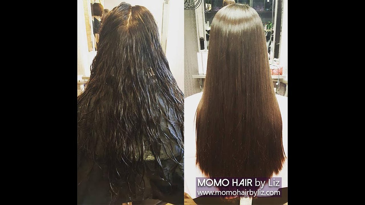Straight perm didnt work - Straight Perm 1 Momo Hair Toronto