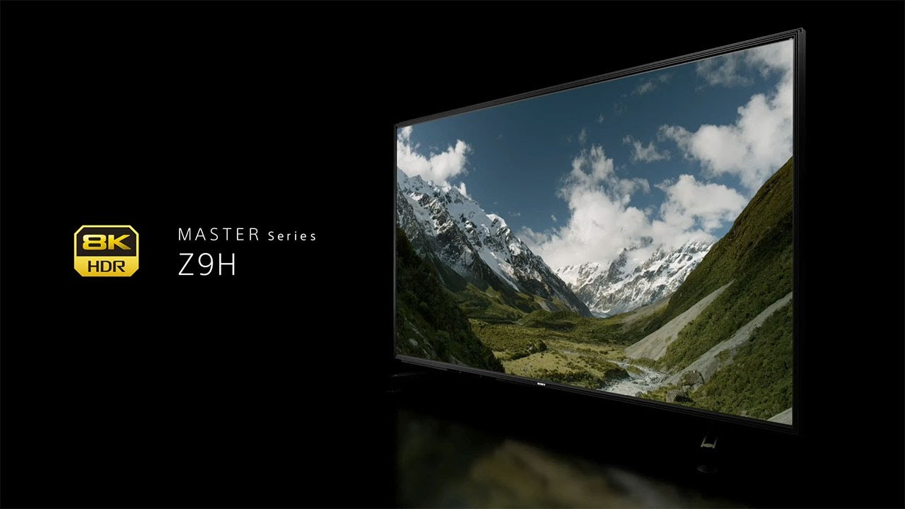 8k ソニー ソニーがついに国内8K市場に参戦! 8K液晶ブラビア「Z9H」、異次元でした