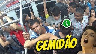 COLOQUEI GEMIDÃO DO WHATS NO METRÔ #GersonResponde10