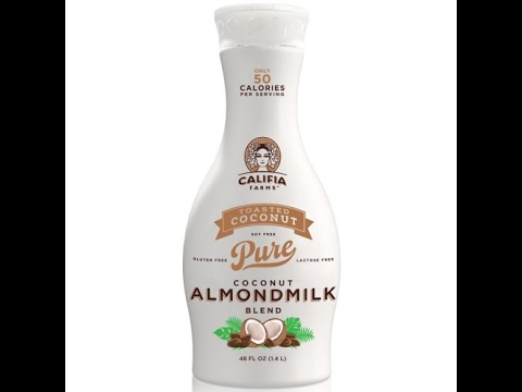 Califia Farms Toasted Coconut Almond Milk Blend Review|Coffee Creamer Substitute