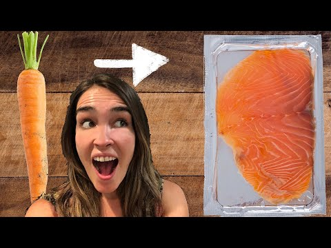 I Try To Make Vegan Salmon With Carrots