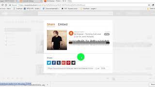 tutorial menambahkan lagu ke blog menggunakan soundcloud.com