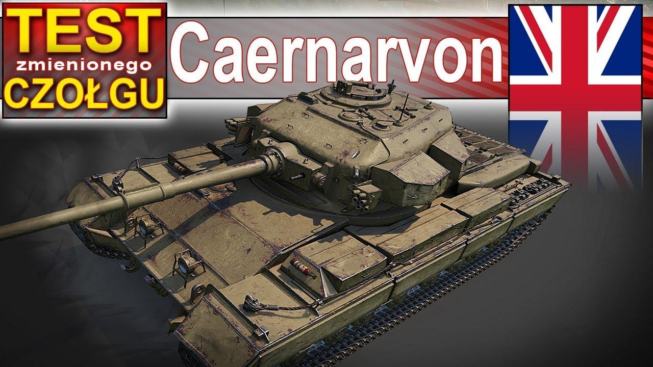 Caernarvon – król szybkości? – World of Tanks