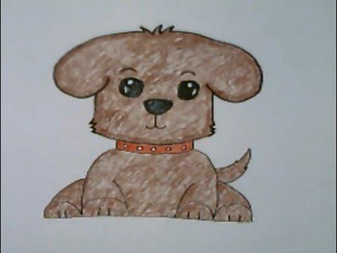 สุนัขแสนรู้ สอนวาดรูปการ์ตูนน่ารักง่ายๆ สอนวาดรูปการ์ตูนระบายสี