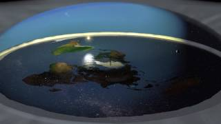 More Flat Earth (AE) 3D animations - 1080p!  FEEL FREE TO USE