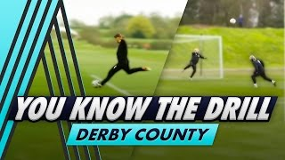 6 Shot Challenge | You Know The Drill - Derby County with Chris Martin