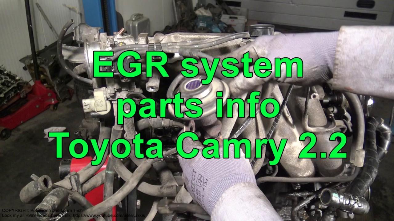 medium resolution of toyota 5s engine diagram data wiring diagram egr system parts info 5s fe toyota camry 2