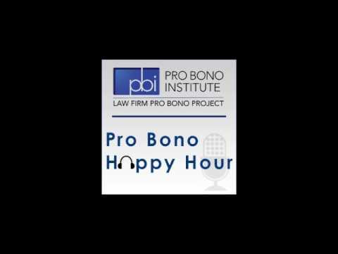 Pro Bono Happy Hour - Susan Hoffman, Crowell & Moring