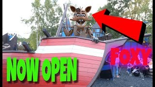 FNAF WORLD THEME PARK NOW OPEN