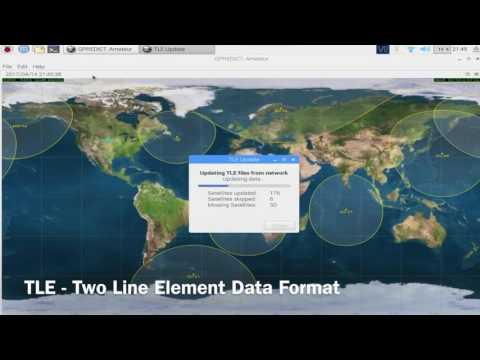 Raspberry Pi Satellite Tracker For Ham Radio - YouTube