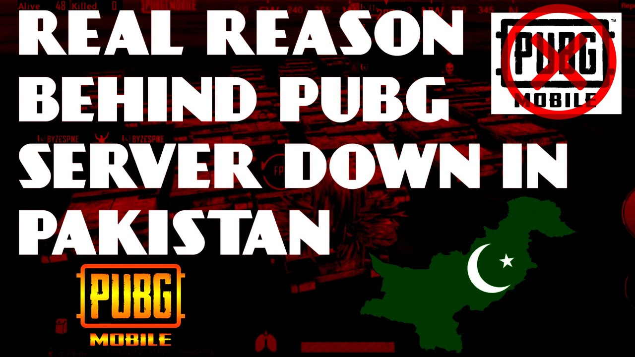 Pubg Server Down In Pakistan Pubg Server Problem Real Reason Youtube
