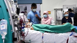 IJN: Injured fireman Adib critically ill
