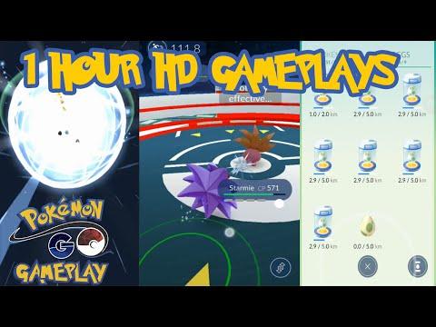 Pokemon Go Evolution, Gym, PokeStops, Eggs and More HD Gameplays